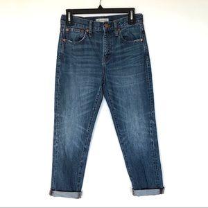 Madewell Straight Leg Crop Jeans